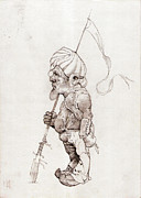 Elio Marruffo - The Dwarf Drawing