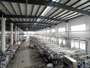 Peoples Republic Of China Photos - The Dyeing Area Of The New Wide Textile by Justin Guariglia