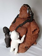 Broken Sculptures - The earth mother by Andre Ferron