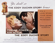 1950s Movies Framed Prints - The Eddy Duchin Story, Kim Novak Framed Print by Everett