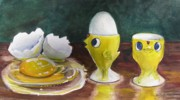 Egg Originals - The Egghead and the Airhead by Jane Loveall