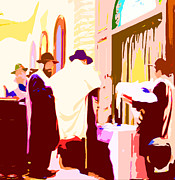 Synagogue Digital Art - The Eighth Day by Michael Klein