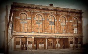Albuquerque Paintings - The Elks Club And Opera House In Albuquerque N M In 1910 by Dwight Goss