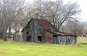 Old Country Roads Photos - The Elusive Barn by Lisa Moore