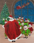 North Pole Originals - The Elves Gift by Gene Ritchhart