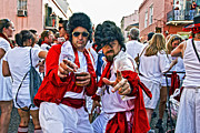 Running Of The Bulls Posters - The Elvis Sightings in New Orleans Poster by Kathleen K Parker