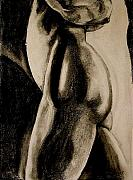 Nude Couple Pastels - The Embrace by Dan Earle