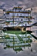 Riverboat Prints - The Emerald Queen Print by David Patterson