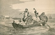 Shovels Prints - The Emigrants Farewell. A European Print by Everett