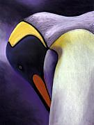 Emperor Penguin Prints - The Emperor Print by Linda Hiller