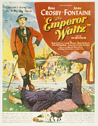 Crosby Photos - The Emperor Waltz, Bing Crosby, Joan by Everett