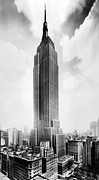 Ev-in Metal Prints - The Empire State Building, New York Metal Print by Everett