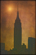 Book Cover Prints - The Empire State Building Print by Tom York