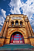 Old Building Prints - The Empire Theatre Print by Meirion Matthias