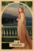 Astrological Posters - The Empress Poster by John Edwards