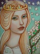 Guinevere Metal Prints - The Empress Metal Print by Tammy Mae Moon