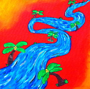 Passionate Paintings - The Enchanting Stream of Life by Evolve And Express