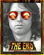 Jim Morrison Digital Art - The End by Jason Kasper