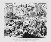 Abraham Lincoln Drawings Posters - The End Of The Republican Party Poster by War Is Hell Store