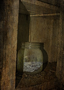 Cards Vintage Metal Prints - The Endless Jar  Metal Print by Jerry Cordeiro