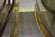 Escalator Prints - The Escalator Print by Marilyn Wilson