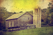 Barn Yard Metal Prints - The Establishment Metal Print by Kathy Jennings