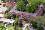 Red Roof Photos - The Exchange Chestnut Hill Academy by Duncan Pearson