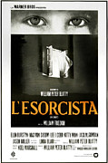 1970s Poster Art Framed Prints - The Exorcist, Aka Lesorcista, Italian Framed Print by Everett