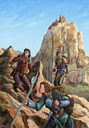 The Explorers Color Print by Storn Cook
