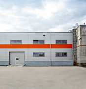 Manufacturing Photo Posters - The Exterior Of A Factory Making Poster by Jaak Nilson