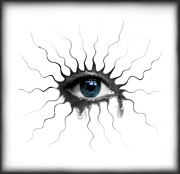 Eye Digital Art Prints - The Eye  2 Print by Yosi Cupano