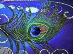 Eyes Metal Prints - The Eye of the Peacock Metal Print by Elizabeth Hoskinson