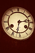 Clock Hands Photo Prints - The Face Of The Nineteenth Century Print by Odd Jeppesen