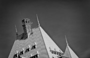 Vancouver Photo Originals - The Fairmonts Roof by Paul W Sharpe Aka Wizard of Wonders