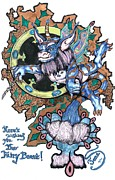 Mosaic Drawings - The Fairy Beast by Jamie Jonas
