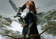 Melissa Krauss - The Falconer