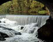 Blackstone River Prints - The Falls Print by Barry Doherty