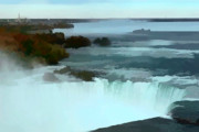 Beautiful Landscape Photos Digital Art - The falls by Tom Prendergast