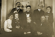 Victorian Photo Originals - The Family at Easter by Jan Faul