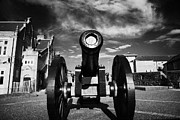 Canons Prints - The Famous Roaring Meg Cannon On The Mall Wall And Double Bastion Section Of Derrys Walls Print by Joe Fox