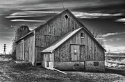Minnesota Homestead Framed Prints - The Fargo Project 12232b Framed Print by Guy Whiteley
