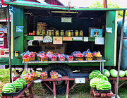 Don Photo Prints - The farmers market Print by Paul Ward