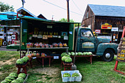 Fresh Food Framed Prints - The Farmers Truck Framed Print by Paul Ward