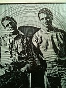 The Father Of The Beatniks Jack Kerouac Print by Shawn Hughes