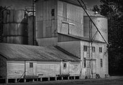 Feed Mill Metal Prints - The Feed Mill Metal Print by Tamera James