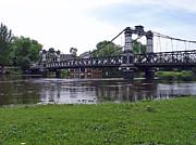 The Ferry Bridge Print by Rod Johnson