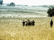 Cannon Prints - The Fields of Gettysburg Print by Bill Cannon