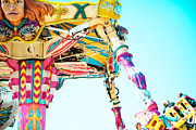 North Carolina State Fair Prints - The Fighter Print by Kim Fearheiley