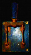 Lawyers Art - The Final Switch - Execution By Electrocution - Painterly Version 2 by Wingsdomain Art and Photography