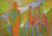 Figures Pastels - The Fine Art of Being Me by LaDonna Kruger